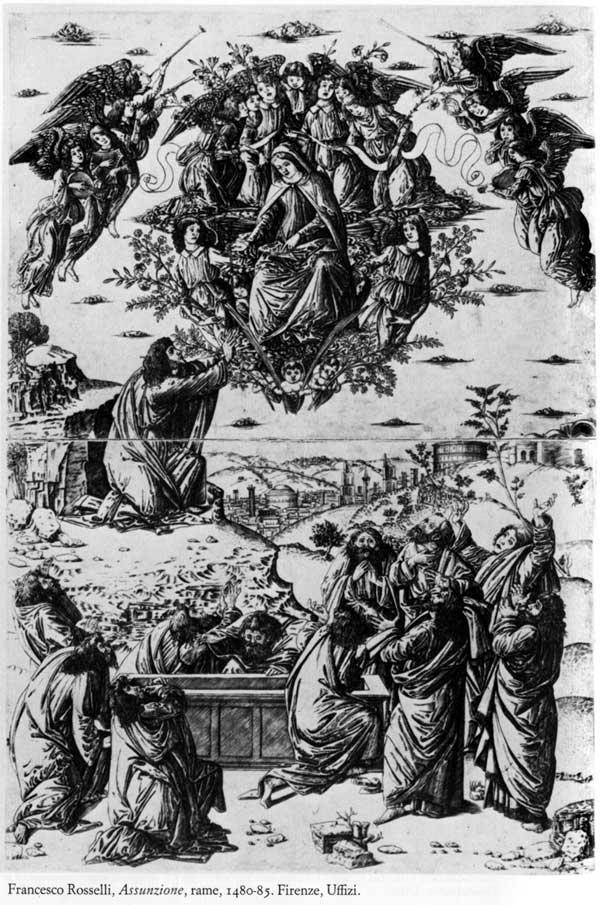 Des ovnis/extraterrestres dans la bible Rosselli_Assunzione