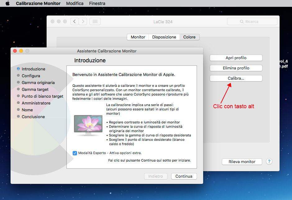 Difficoltà Calibrazione Monitor Macbook Air Manca La Modalità